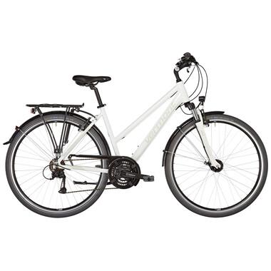 Vélo de Voyage VERMONT BRENTWOOD TRAPEZ Femme Blanc 2019
